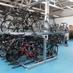 Sheffield Station cycle hub two tier 1