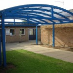 Classsroom extended canopy