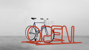 Open Bike rack