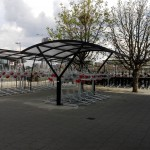 Two Tier Cycle Racks and York Shelter