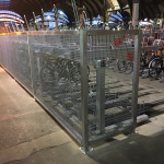 Two Tier cycle racks installed at York station