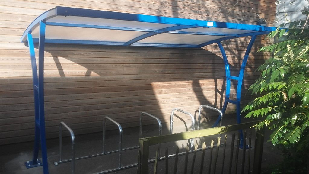 Barratt bike shelter