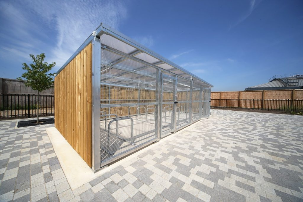 ohunt Wokingham Cycle Parking Compound