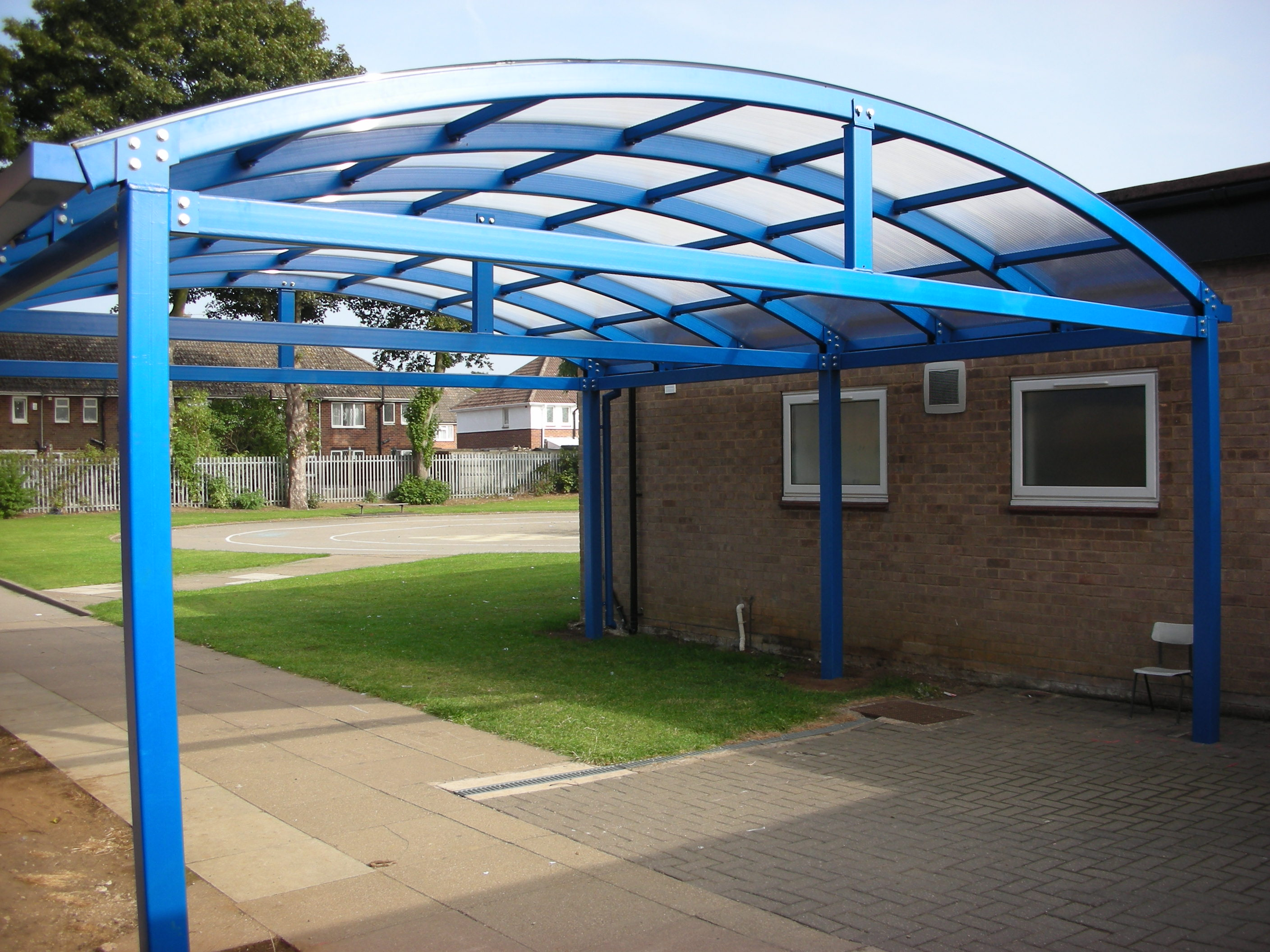 Canopies And Tarps : Bespoke canopy lock it safe