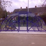 Hamble Compound with Swing gate