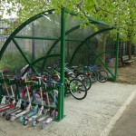 Hamble Shelter & Scooter rack