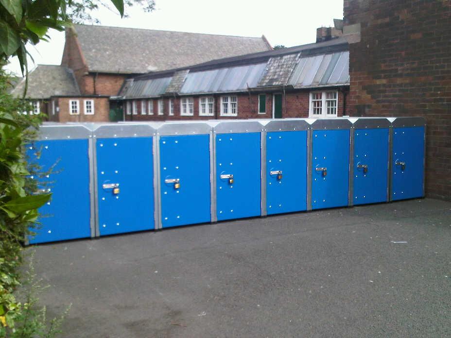 single cycle lockers