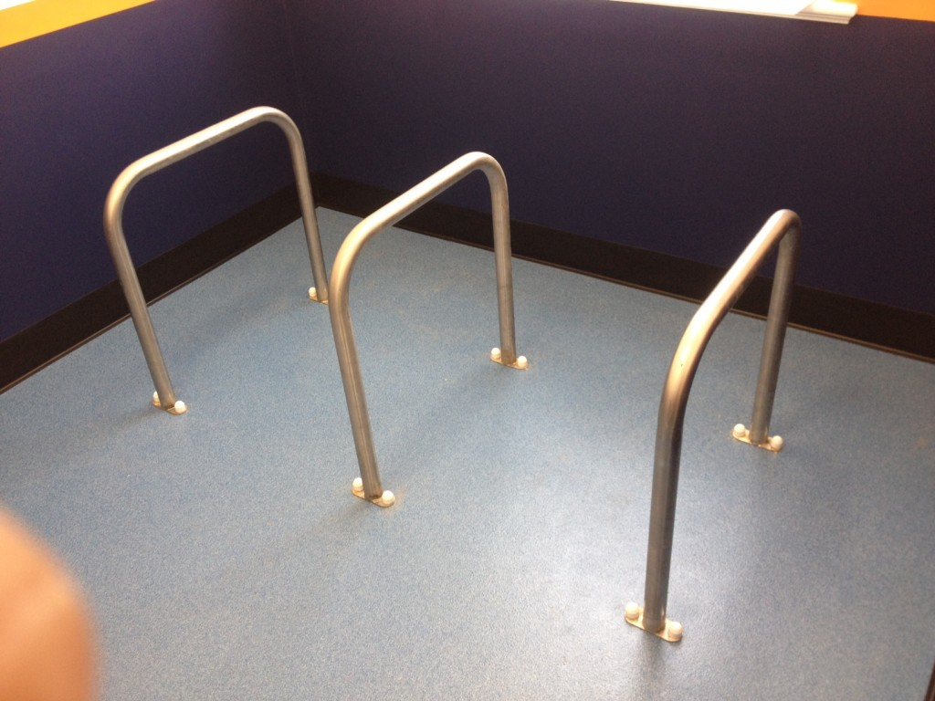 Surface Mounted Stainless Steel Sheffield Stands