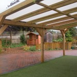 wooden canopy