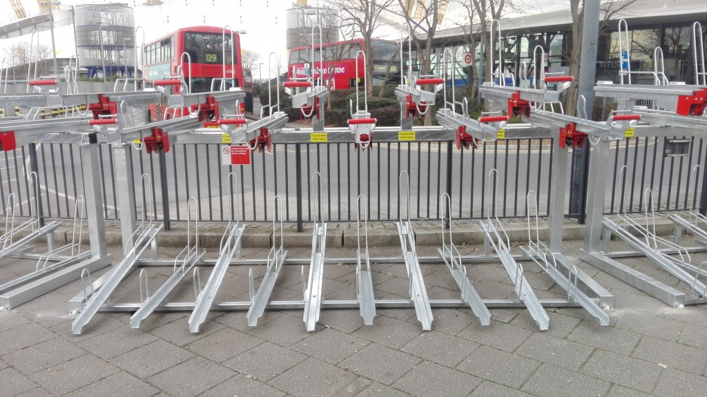 Two Tier Cycle Racks