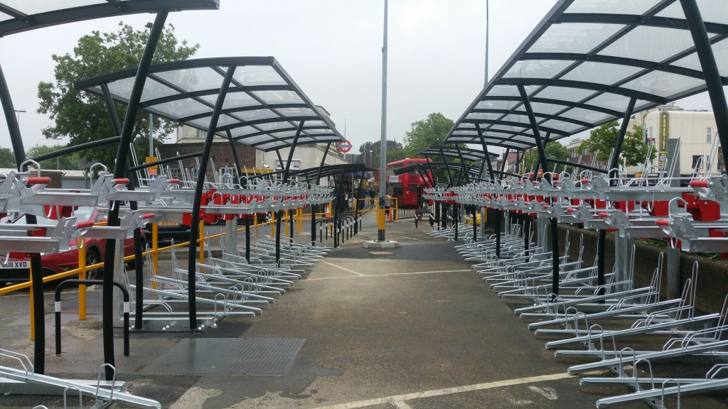 Hounslow West cycle parking
