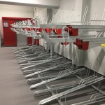 Two Tier cycle racks installed for Virgin Trains