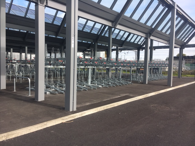 Two Tier Racks Cambridge Station