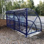Hamble cycle compound with sliding gates