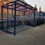 Lockit-safe Two Tier Cycle Shelter
