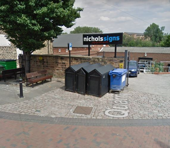 cycle lockers for Rotherham MBC
