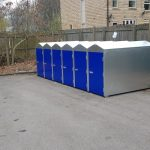 cycle lockers for West Yorkshire Police