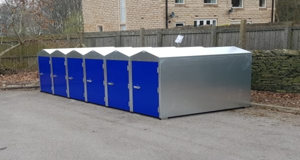 Cycle lockers West Yorkshire Police