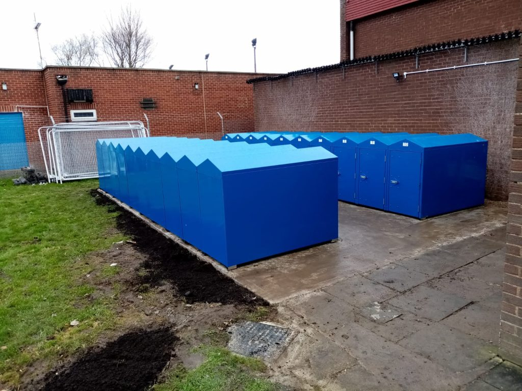 cycle lockers Hartlepool Council