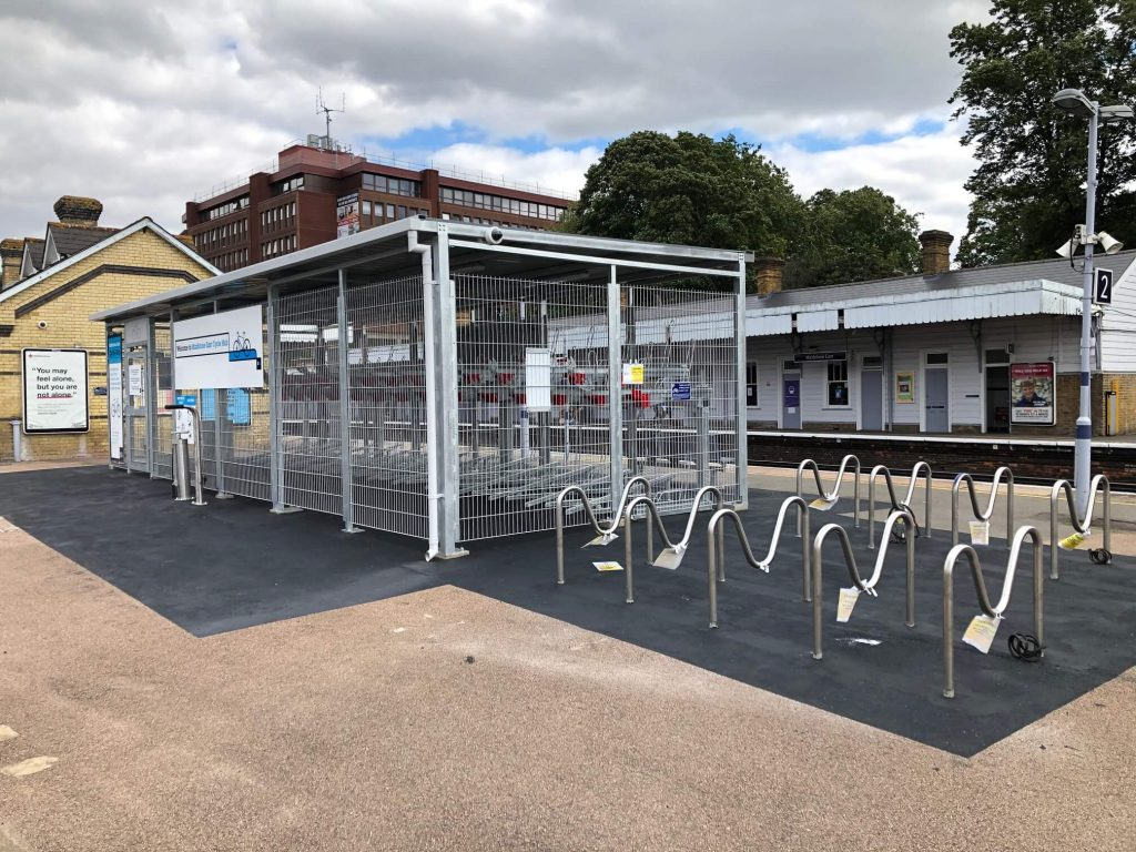 Cycle compound lockit-safe Maidstone station